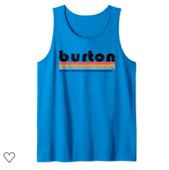 Tank top | Retro Burton logo